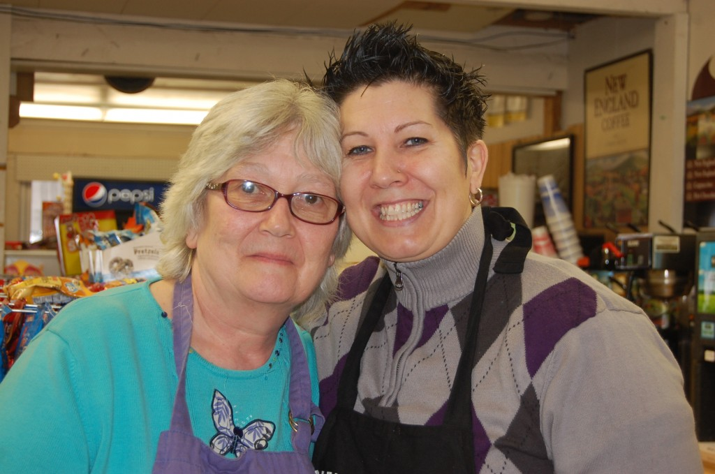 Mother-and-daughter team Lynn Warford and Jennifer Worster are the cooks behind the scene at Hancock Grocery. PHOTO BY JACQUELINE WEAVER